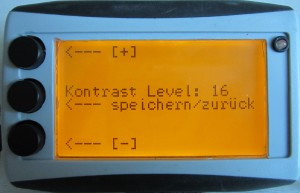 Laptimer - Kontrast Level